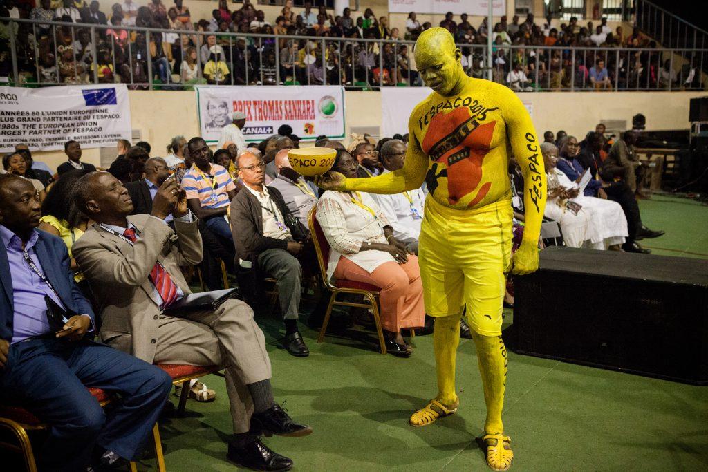 Cérémonie d'ouverture du Fespaco à Ouagadougou.