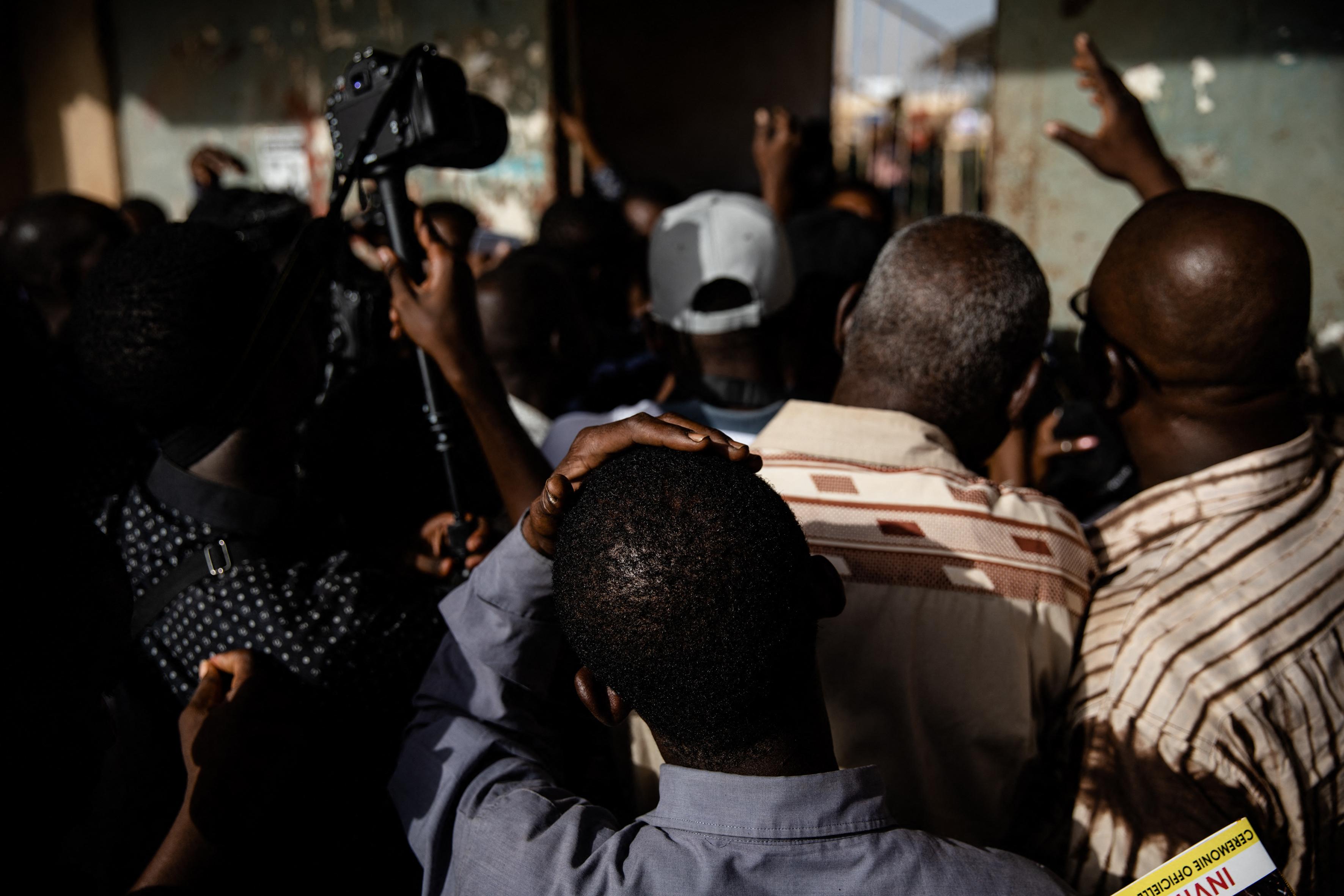 Cérémonie d'ouverture du FESPACO au Stade Municipal de Ouagadougou.