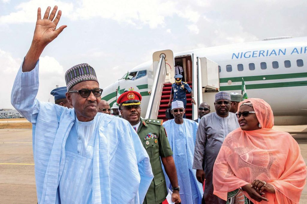 Muhammadu Buhari, le 25 février à Abuja.  - sipa ap22306497 000015 1024x683 - Nigeria – Dangote tout-puissant : héros de toute l'Afrique et homme d'affaires impitoyable