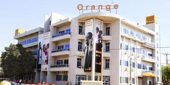 Le siège d'Orange Niger à Niamey.