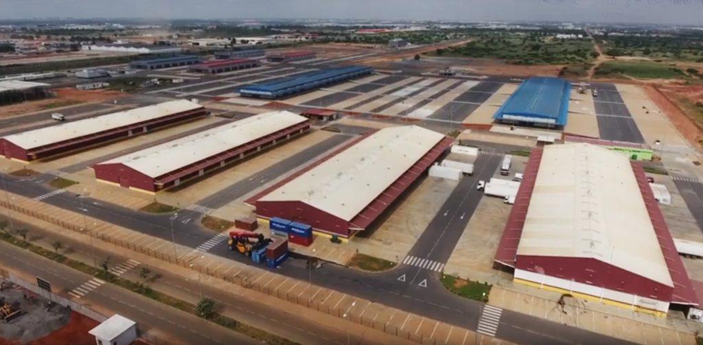 Centro de Logística y Distribución (CLOD) de Luanda. Incatema Consulting & Engineering