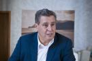 Aziz Akhannouch (Maroc), homme d'affaires (Akwa Group, Afriqia Gaz, Maghreb Oxygen), ministre de l'Agriculture (depuis 2007) et president du Rassemblement National des Independants (RNI) depuis 2016. A Dakhla le 24.02.2019. Photo Vincent Fournier/JA