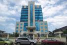 Le siège de la Banque centrale du Liberia, à Monrovia, le 27 septembre 2017.