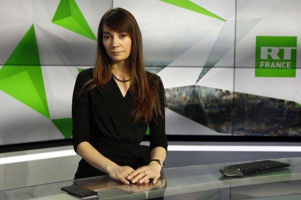 Xenia Fedorova, présidente et directrice de l'information de RT France.