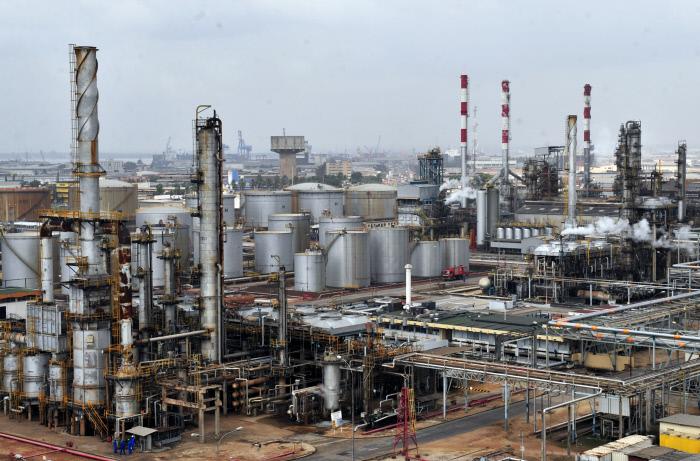 Une usine de mise en bouteille de gaz en Côte d'Ivoire en janvier 2012 (photo d'illustration)