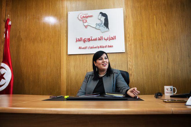 Tunisie : Abir Moussi, portrait d'une Benaliste convaincue