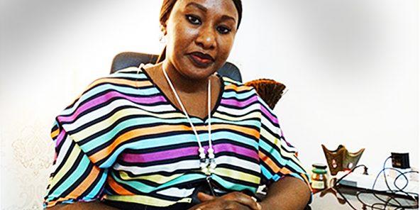 Diakité Kadidia Fofana, Porte-parole du Collectif des amazones contre les violences faites aux femmes.