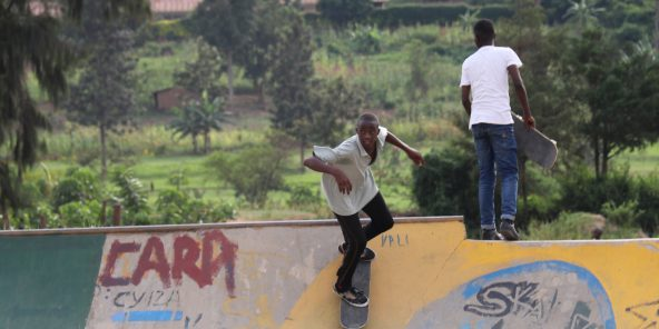 Photo du filmAfrica Riding, la nouvelle websérie documentaire d'ARTE à la rencontre d'une génération en mouvement.© Arte
