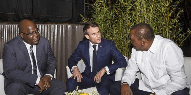 Afrique-France : dans les coulisses de la rencontre entre Macron, Tshisekedi et Kenyatta