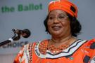 L'ancienne présidente du Malawi Joyce Banda, le 5 février 2019 à Blantyre