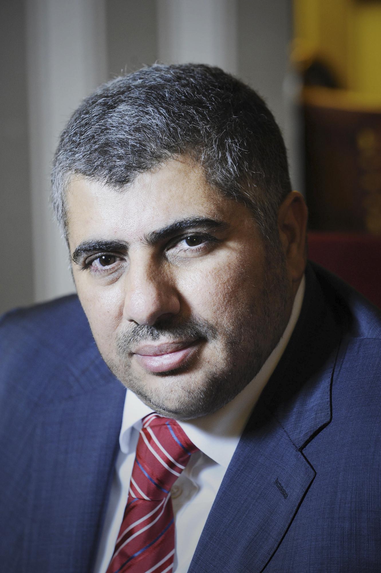 Mohamed Laid Benamor (algérie), industriel, directeur général du Groupe Benamor. A Paris le 29.11.2011. © Vincent Fournier/JA