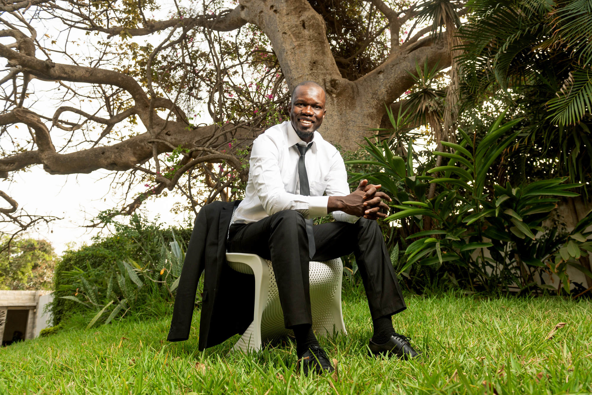 Ousmane Sonko, le 13mars 2018, à Dakar.