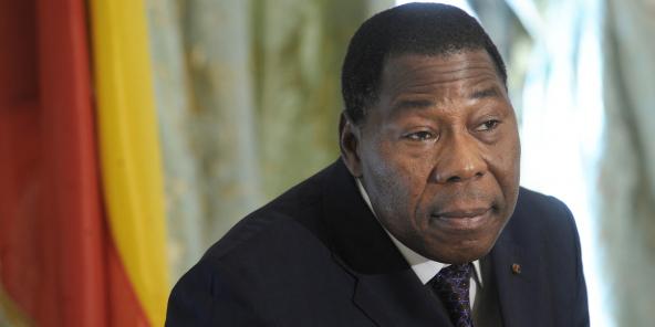 L'ancien président du Bénin Thomas Boni Yayi, en 2012.