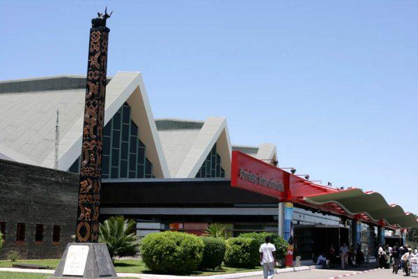 Terminal actuel de l'aéroport d'Antananarivo-Ivato.