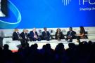 Premier débat du 7e Africa CEO Forum à Kigali, le 25 mars 2018.