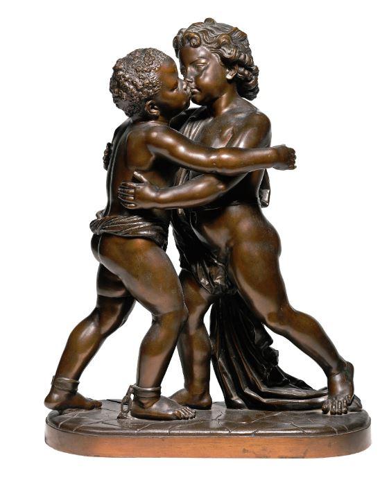 Aimez-vous les uns les autres, de Chalres Cordier (1867).