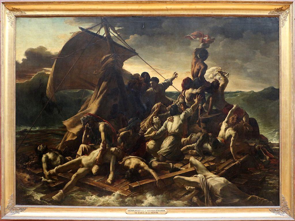 Le Radeau de La Méduse, Géricault (1818)