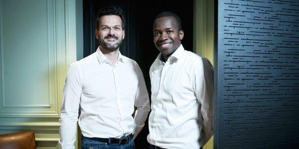 Cyril Collon et Tidjane Deme, les deux associés de Partech Africa.