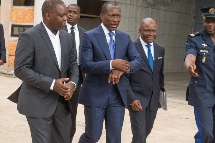 Patrice Talon, président de la République du Bénin, à Cotonou en 2016.