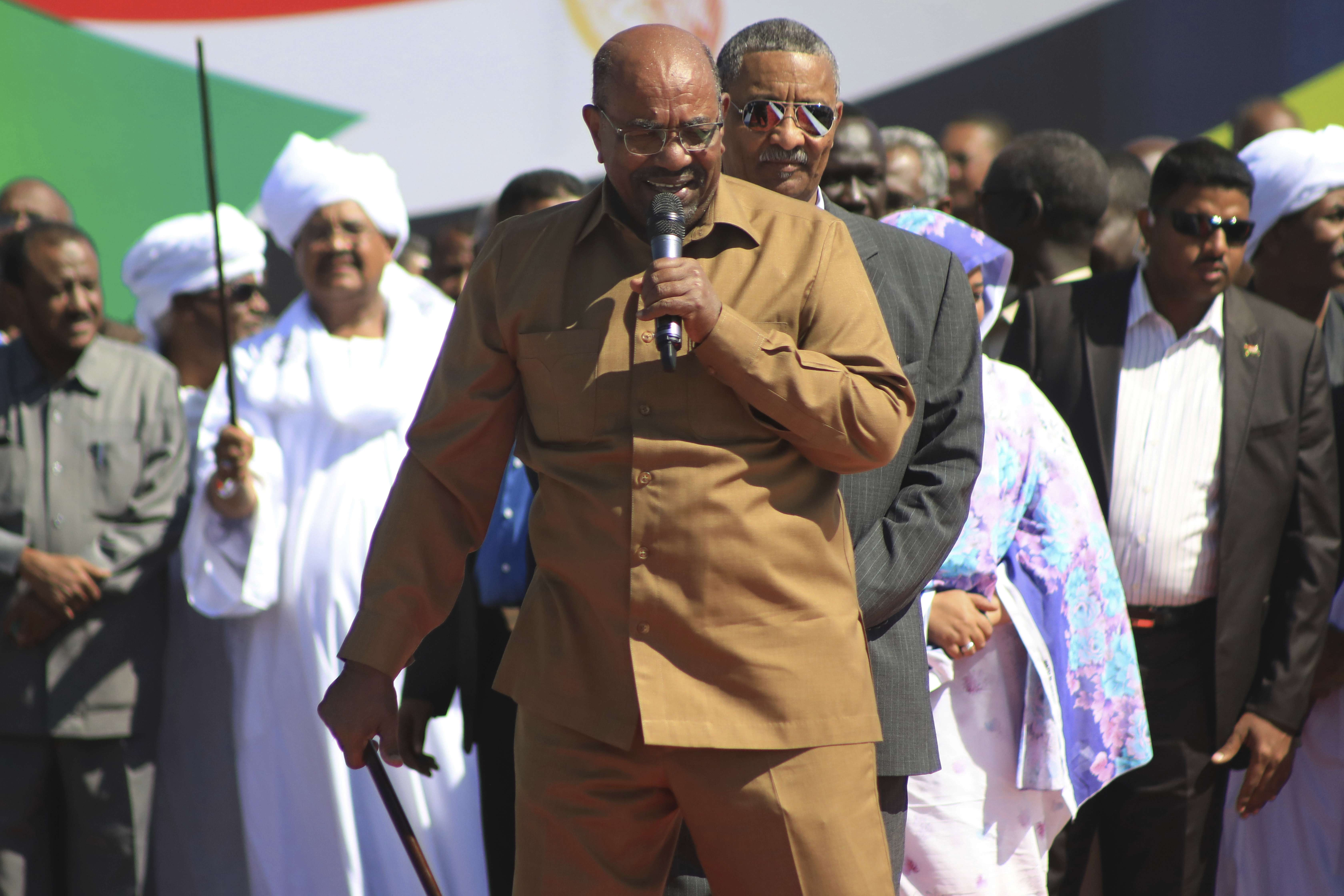 Le président soudanais Omar el-Béchir, ici en janvier 2019 à Khartoum, a démissionné jeudi 11 avril 2019.