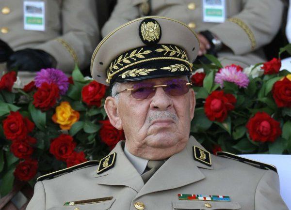 Le général de corps d'armée Ahmed Gaïd Salah.