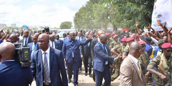 RDC : Félix Tshisekedi à Lubumbashi dans un contexte d'insécurité – Jeune  Afrique