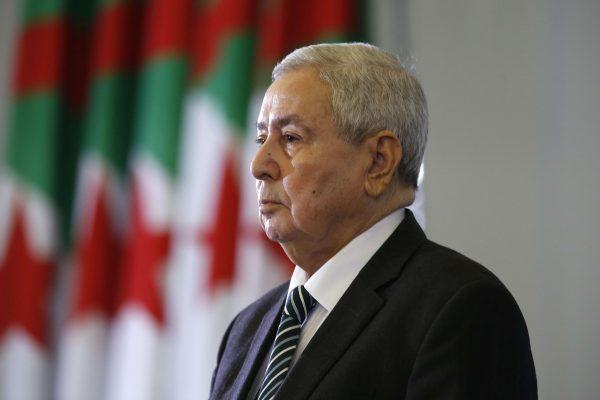 Le président algérien par intérim, Abdelkader Bensalah.