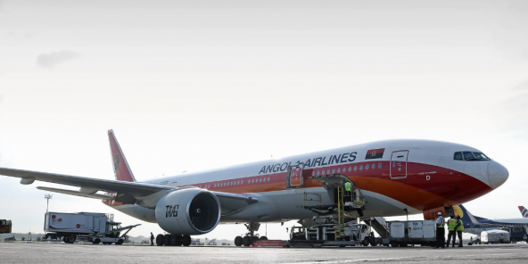 Un avion de TAAG Angola Airlines en 2018. Photo d'illustration.