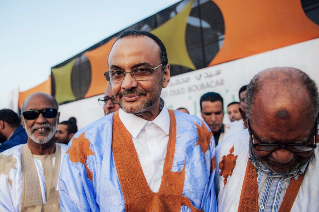 Mohamed Ould Boubacar, candidat à la présidentielle.