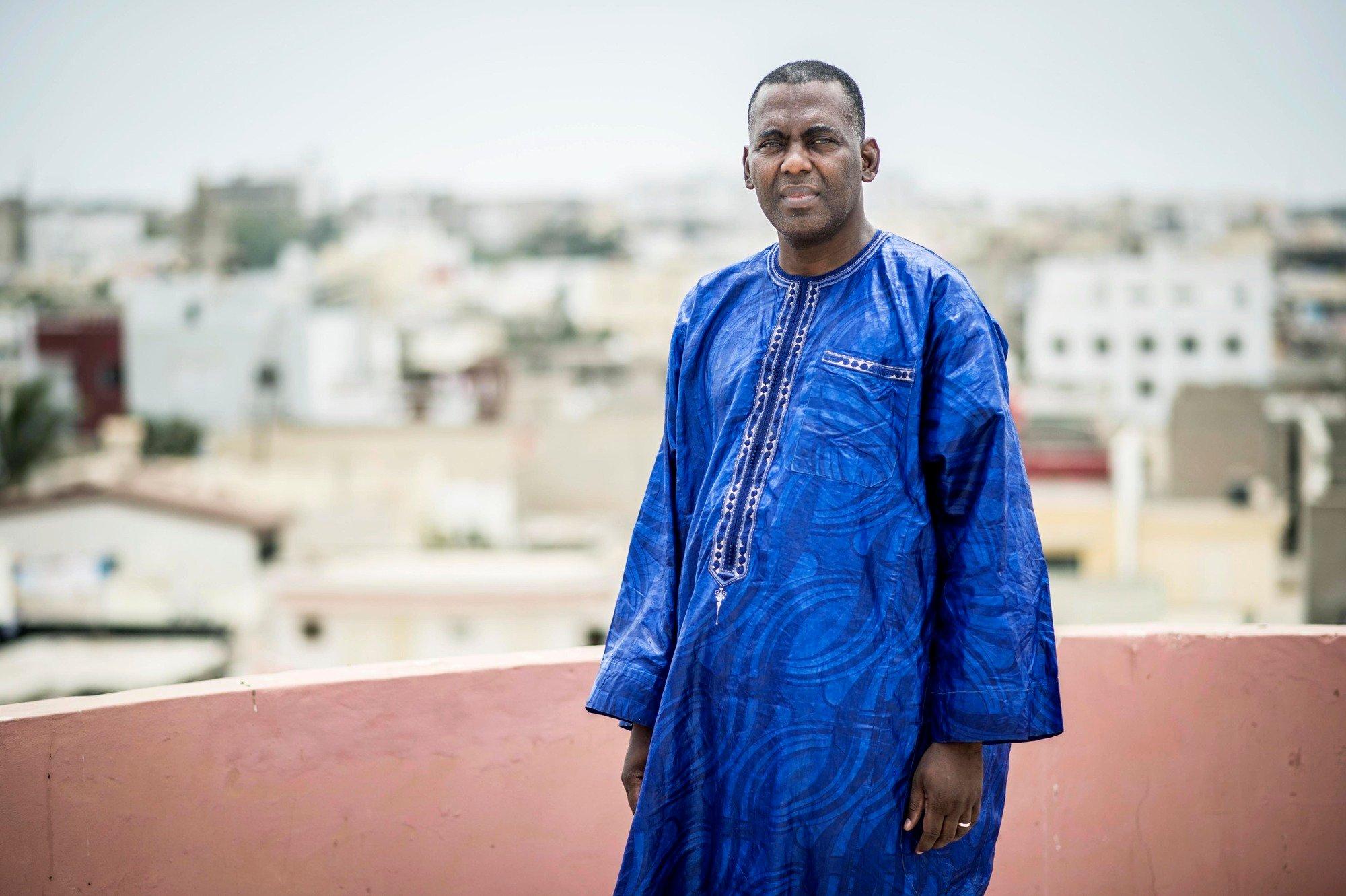 Biram Ould Dah Abeid, à Dakar, le 2 juin 2016.