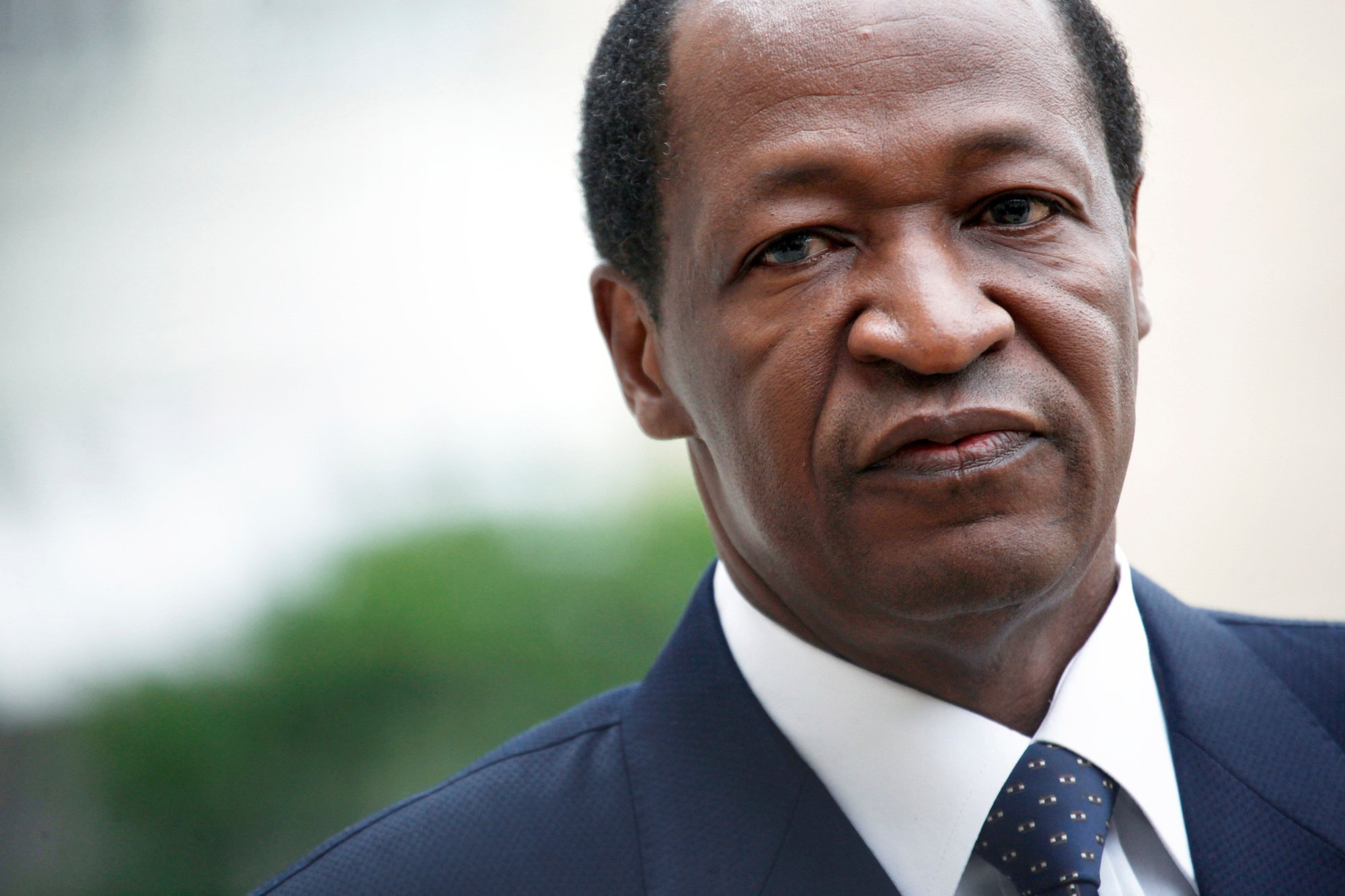 L'ancien président Blaise Compaoré vit en exil à Abidjan depuis 2014.