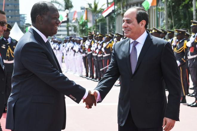 Égypte : Sissi a plaidé la cause du maréchal Haftar en Afrique de l'Ouest