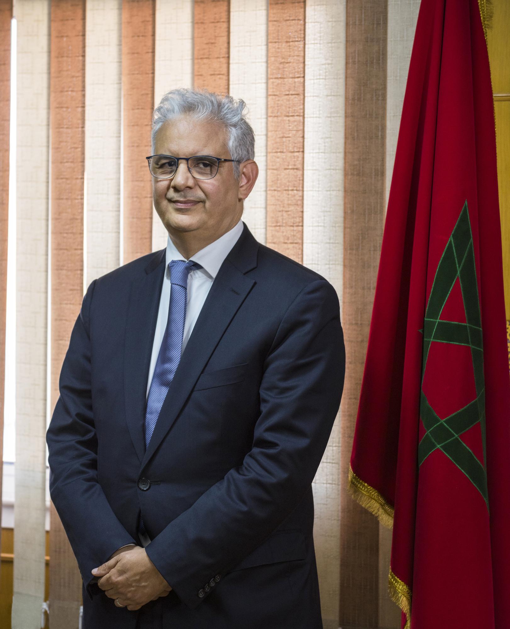 Le secrétaire général du parti de l'Istiqlal, Nizar Baraka.