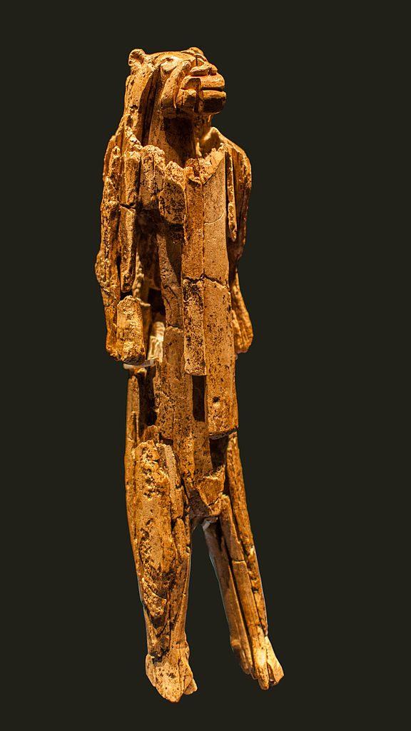 L'homme-lion retrouvé dans la grotte de Hohlenstein-Stadel
