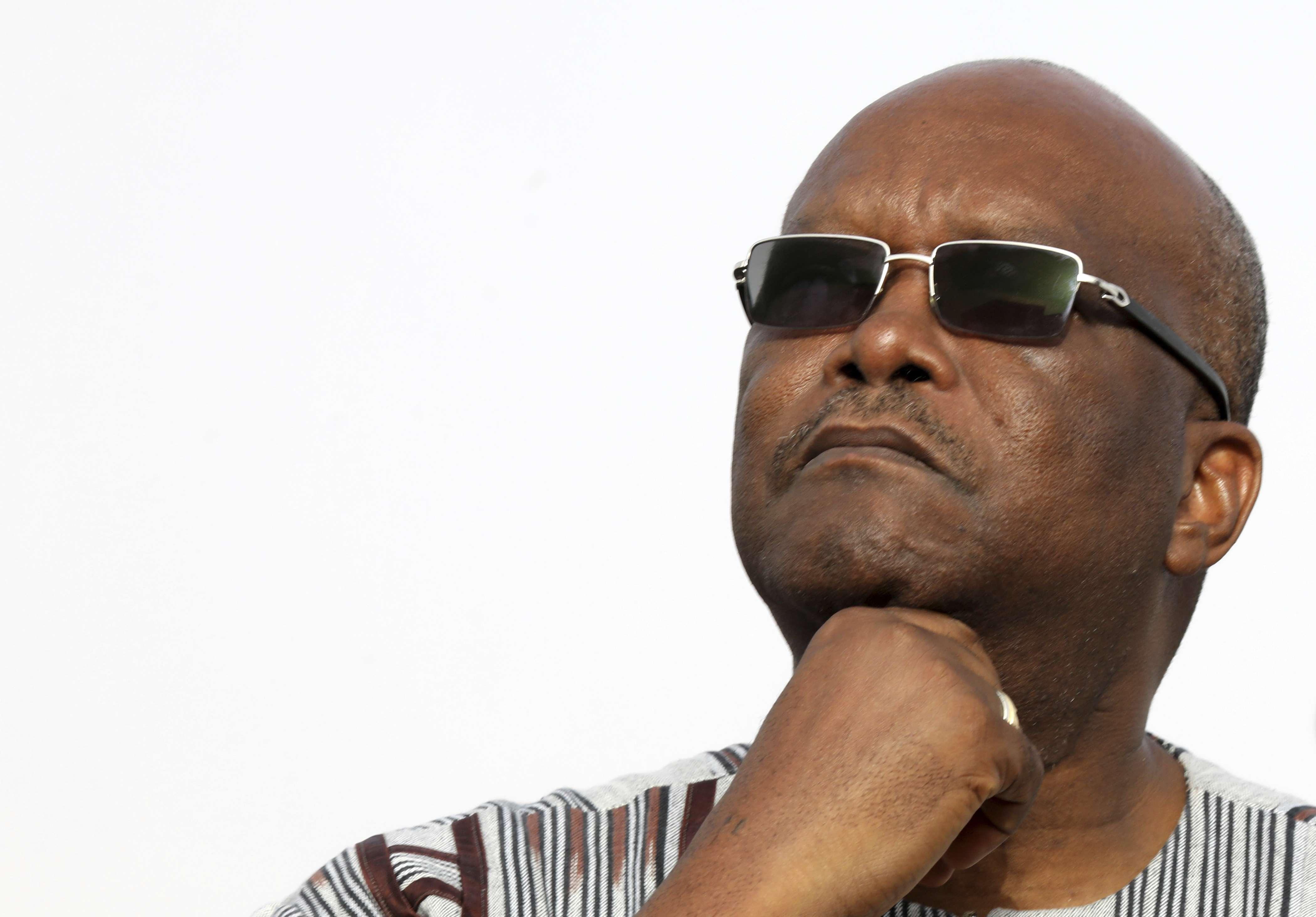 Roch Marc Christian Kaboré le 2 juillet 2018 à Nouakchott.