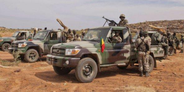 Des soldats maliens dans la région de Mopti, dans le centre du pays, en 2012.