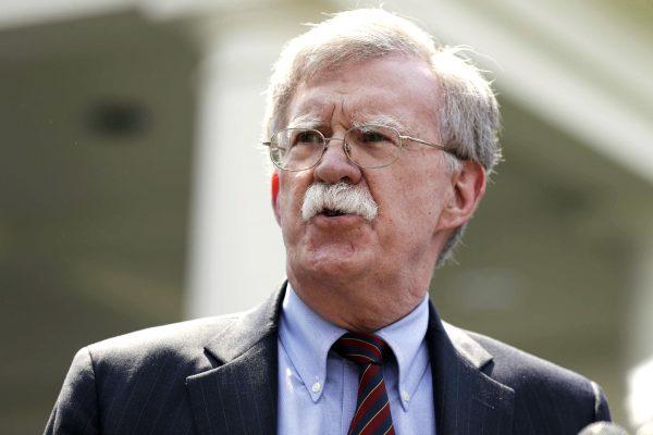 John Bolton, conseiller à la sécurité nationale du président américain Donald Trump, fin avril 2019 à Washington.
