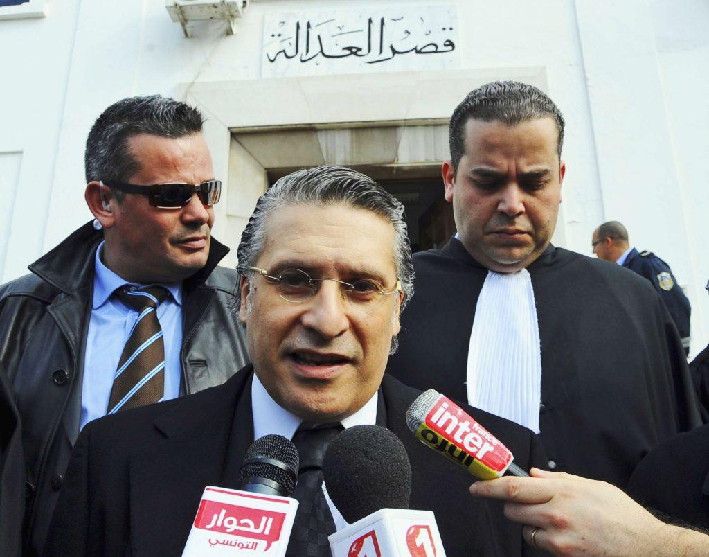 Nabil Karoui, le 23 janvier 2012 à Tunis.