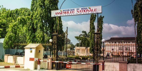 Le Palais des gouverneurs à Porto-Novo, siège de l'Assemblée nationale du Bénin.