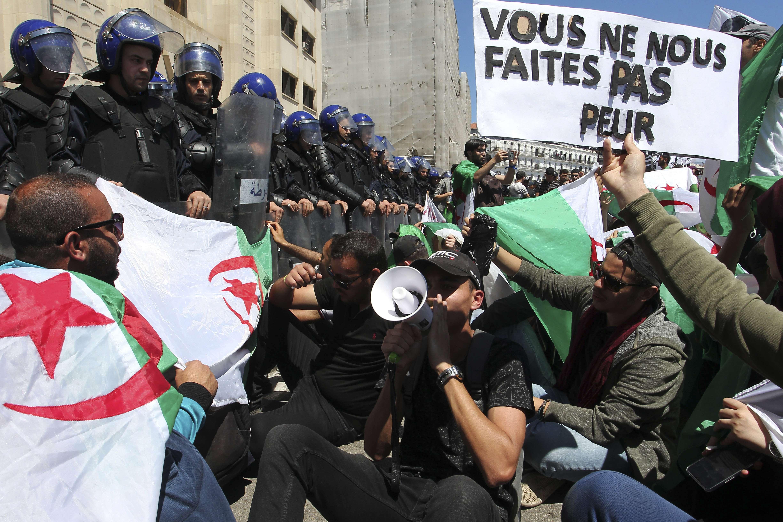Lors d'une manifestation à Alger, le 14 mai 2019.