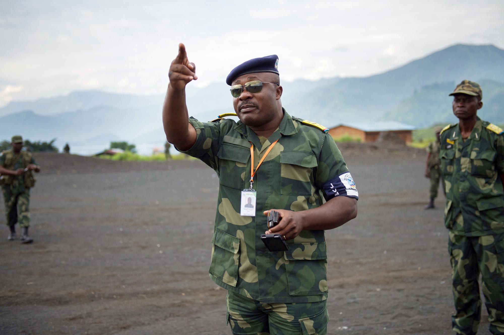 Le colonel Jean-Claude Yav, proche de Joseph Kabila, est toujours chef de la maison militaire.