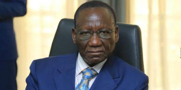 Sylvestre Ilunga Ilunkamba, Premier ministre de RDC, lors de sa nomination le 20 mai 2019 à Kinshasa.