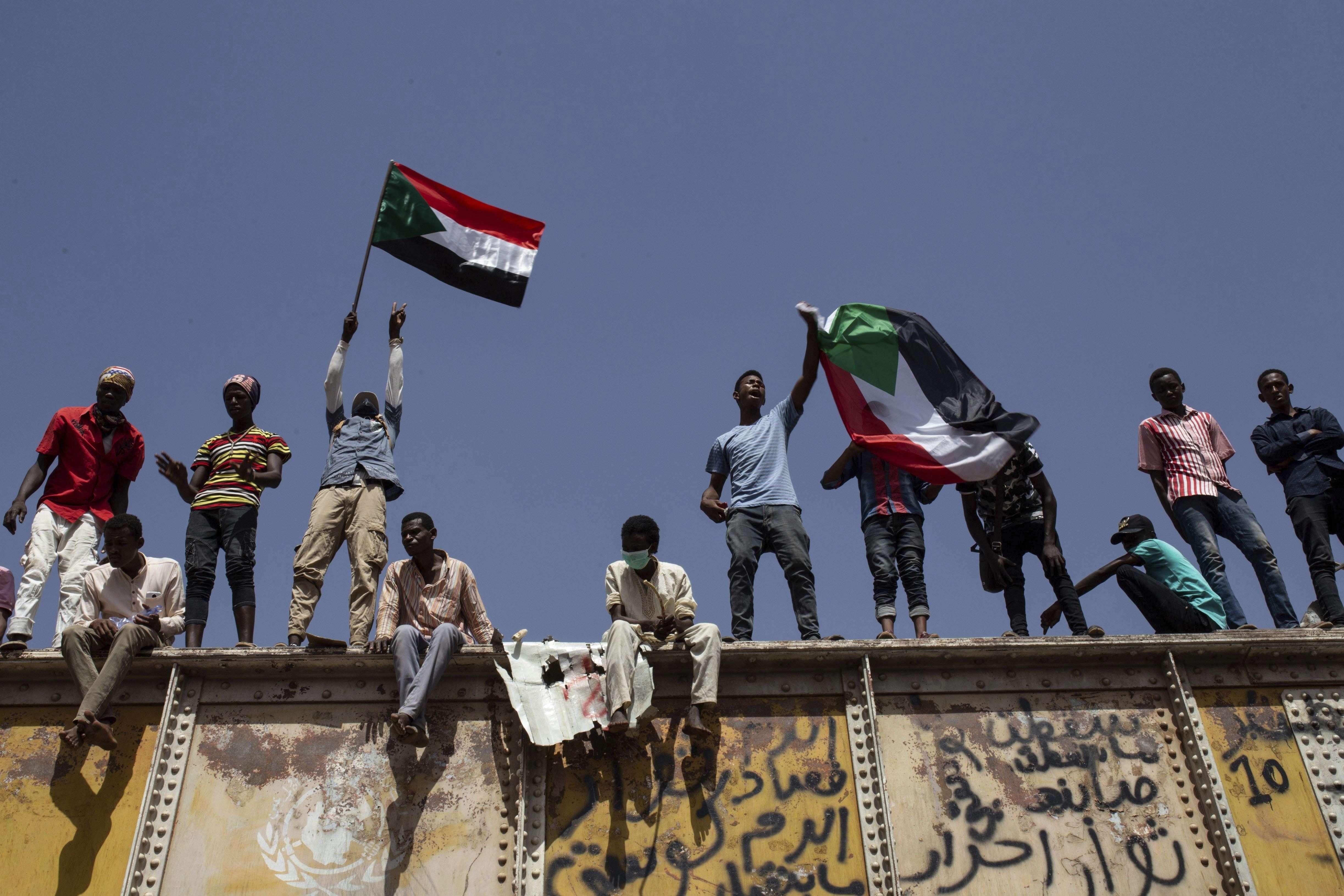 Des manifestants à Khartoum, le 2 mai 2019.