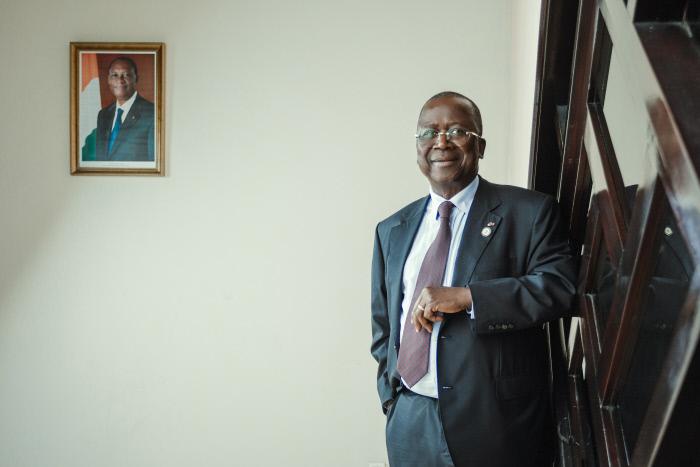 Jeannot Ahoussou-Kouadio, président du Sénat, a officiellement rejoint le RHDP.