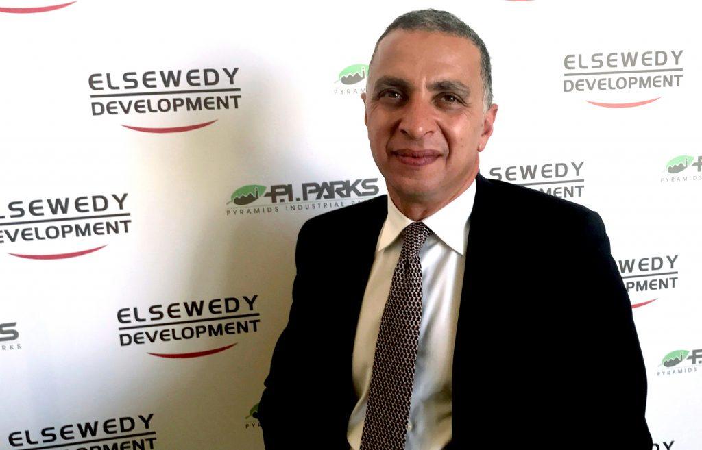 Ahmed El Sewedy, Président de l'entreprise El Sewedy Electric, au/Caire en 2017. Photo © Ehab Farouk/REUTERS