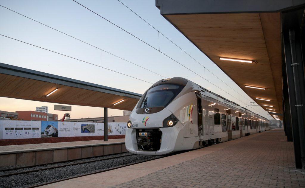 Réception du TER et inauguration de la Gare de Dakar Gare de Dakar, le 14 Janvier 2019© Présidence Sénégal / Photo : Lionel Mandeix