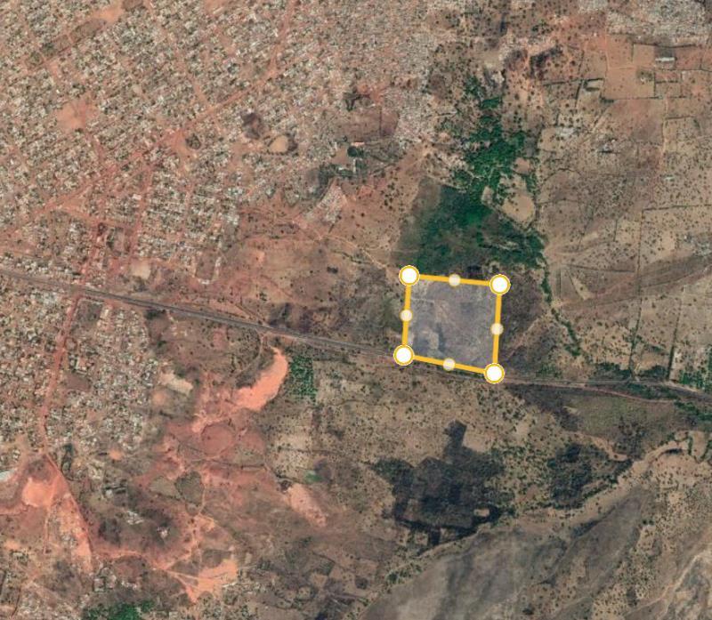 La zone de la forêt de Kua, au Burkina, concernée par le projet de construction d'un CHU.
