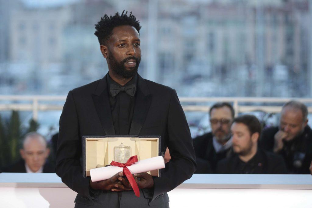 Le réalisateur franco-malien Ladj Ly, après la cérémonie de remise des prix de Cannes 2019.