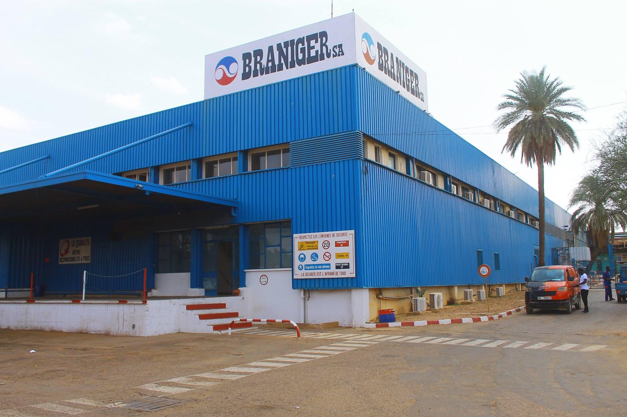 Siège de l'usine Braniger au Niger.