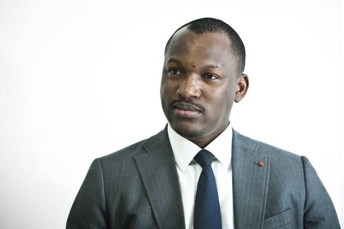 Mamadou Touré, ministre de la Promotion de la Jeunesse et de l'Emploi des Jeunes.